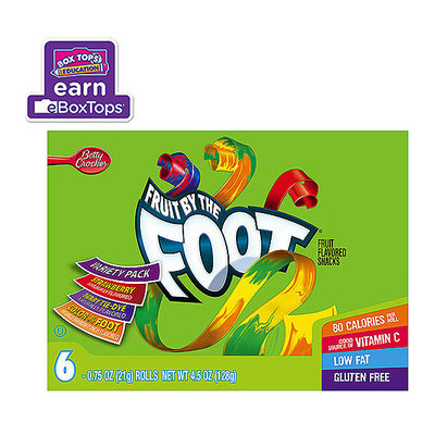 Fruit By The Foot Betty Crocker Variety Pack Fruit Flavored Snacks