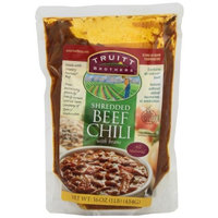 Truitt Brothers Truitt Family Foods All Natural Beef Chili with Beans, 16-Ounce (Pack of 4)