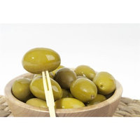 Orto Conserviera Large Cerignola Green Olives - Sold by the Pound