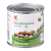 Ahold Mushrooms Whole
