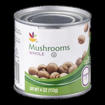 Ahold Mushrooms Whole