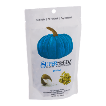 SuperSeedz Gourmet Pumpkin Seeds Sea Salt