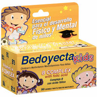 Bedoyecta Kids B Complex Multivitamin Supplement Chewable Tablets