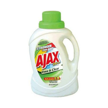 Phoenix Brands AJAX 2X Free & Clear Liquid Laundry Detergent