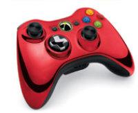 Microsoft Xbox 360 Controller Wireless Red Chrome