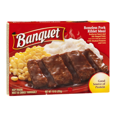 Banquet Boneless Pork Riblet Meal