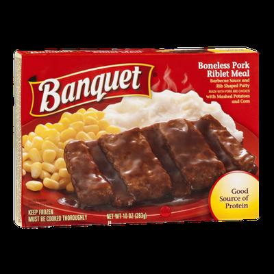 Banquet Boneless Pork Riblet Meal