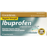 Good Sense Ibuprofen Liquid Softgel Case Pack 24