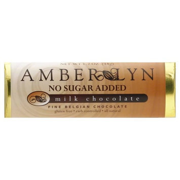Amber Lyn Milk Chocolate, No Sugar Added - 1.2 oz
