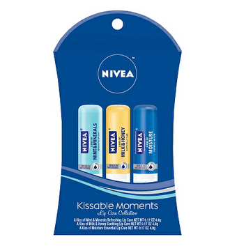 NIVEA Lip Care Kissable Moments Gift Set