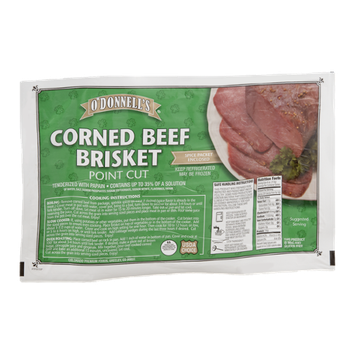 O'Donnell's Corned Beef Brisket Point Cut
