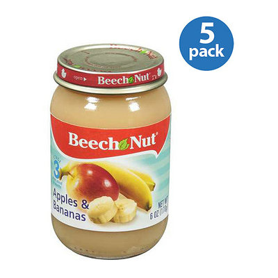 Beech-Nut Stage 3 Apples & Bananas Baby Food