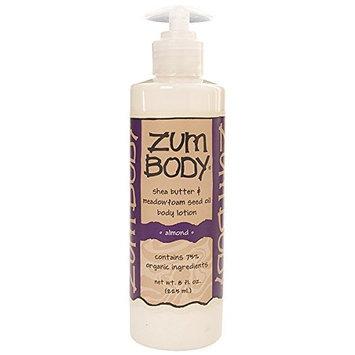 Indigo Wild Zum Body Lotion, Almond, 8 Fluid Ounce