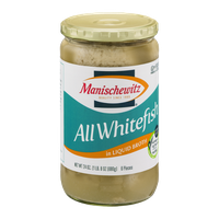 Manischewitz All Whitefish Pieces in Liquid Broth - 6 CT