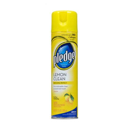 Pledge Furniture Polish - Lemon Clean, 9.7 oz