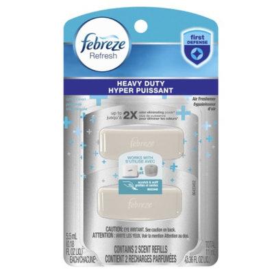Febreze Refresh Heavy Duty Crisp Clean Refill Air Freshener, .18 fl oz