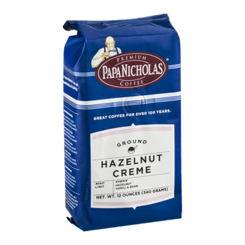 Papa Nicholas Coffee Ground Hazelnut Creme Light