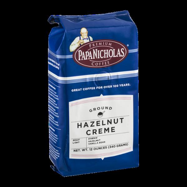Papa Nicholas Coffee Ground Hazelnut Creme Light