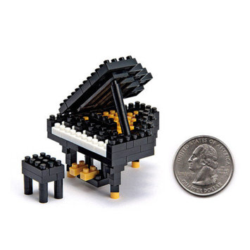 Nanoblock nanoblock Mini Plus Grand Piano Building Blocks