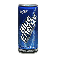 Blue Sky Blue Energy Natural Energy Supplement Drink Berry