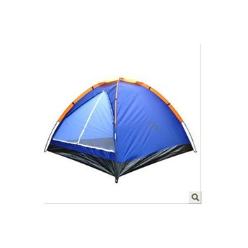 Outdoor three person camping tent juncture total pressure of the glue processing