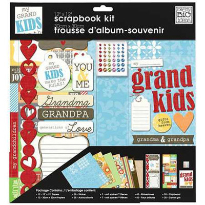 Me & My Big Ideas Scrapbook Multi Page Kit 12 inch x 12 inch
