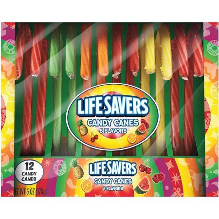 Life Savers Candy Canes 5 Flavours