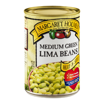 Margaret Holmes Medium Green Lima Beans