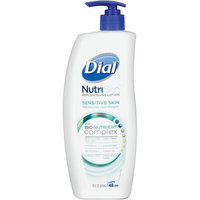 Dial® NutriSkin Sensitive Skin Fragrance Free Replenishing Lotion
