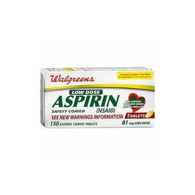 Walgreens Low Dose Aspirin Tablets, 150 ea