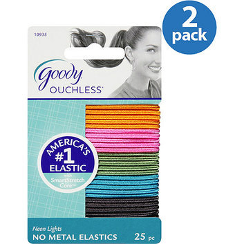 Goody Ouchless No Metal Hair Elastics
