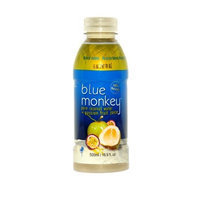 Blue Monkey Coconut Passion All Natural juices Drink, 16-Ounce (Pack of 12)