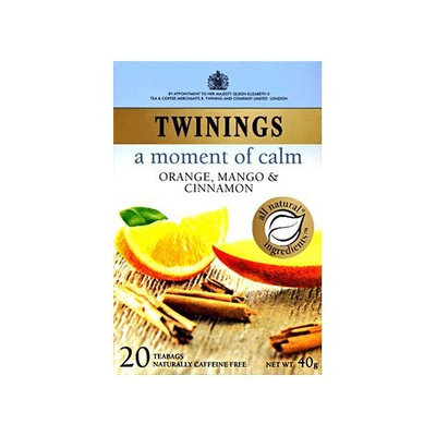 Twinings® A Moment Of Calm Orange Mango & Cinnamon Tea