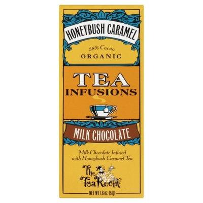 The Tea Room Organic Honeybush Caramel Tea Infused Milk Chocolate Bar, 1.8 Ounce -- 12 per case.