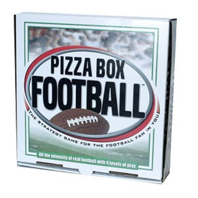 Pizza Box Football Game Ages 16+