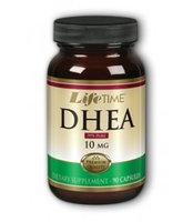 DHEA 10 mg, 90 Capsules, LifeTime
