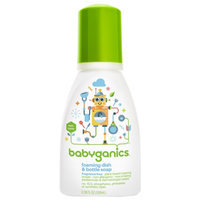 BabyGanics The Dish Dazzler Foaming Dish and Bottle Soap