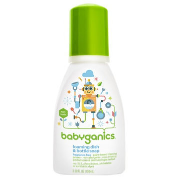 BabyGanics The Dish Dazzler Foaming Dish and Bottle Soap