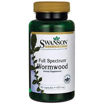 Swanson Full-Spectrum Wormwood 425 mg 90 Caps