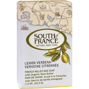 South of France - French Milled Vegetable Bar Soap Lemon Verbena - 1.5 oz.
