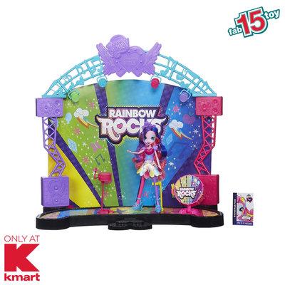 Hasbro Equestria Girls® Rainbow Rocks Mane Event Stage Playset Kmart Exclusive