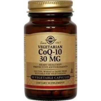 Solgar Vegetarian CoQ-10 Vegetable Capsules, 30 mg, 30 Count