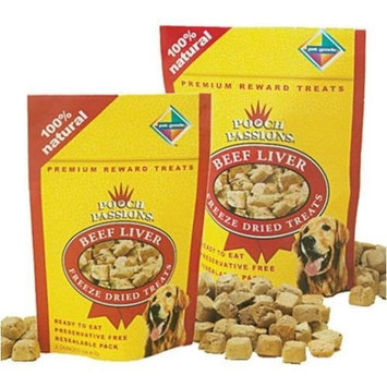 Pooch Passions Freeze Dried Liver Dog Treat Quantity: 2-oz