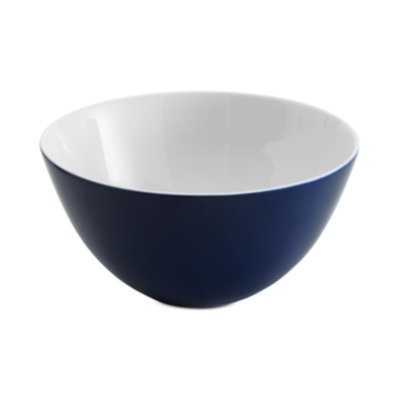 Vera Wang Wedgwood Simplicity Indigo Serving Bowl