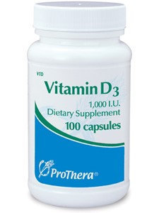 Prothera Vitamin D3 1000 IU 100 caps