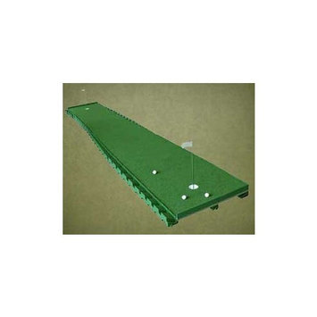 Extreme Green Master 3 Golf 3' X 16' Practice 2 Cup Chipping Putting Trainer
