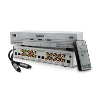 Nyrius HD Ready Component Video Source Selector Switch & Bonus 6 Foot Digital Audio Optical Toslink Cable (NWOC500)
