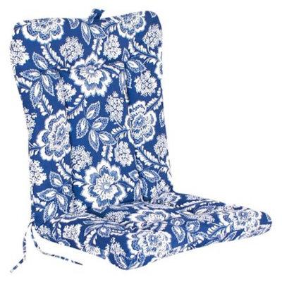 Jordan Outdoor Euro Style Conversation/Deep Seating Cushion - Blue/White