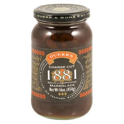 Duerr English Preserves British Duerrs Coarse Cut 1881 Seville Orange Marmalade, 16 Ounce -- 6 per case.