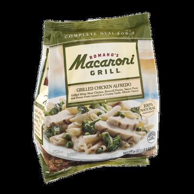 Romano's Macaroni Grill Grilled Chicken Alfredo